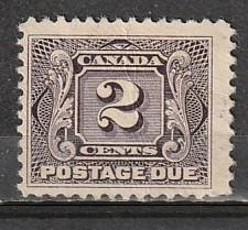 J2 Canada Mint NG BOB Postage Due