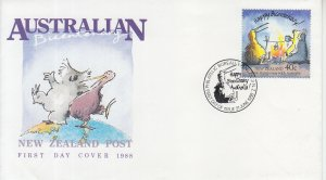1988 Australia Bicentenary - New Zealand  (Scott 1086) FDC