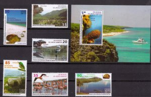CUBA Sc# 5954-5960  WORLD ENVIRONMENT DAY Cpl set of 6 + SS  2017  MNH mint