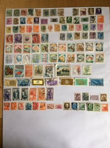 Italy 100+ stamps - Lot A