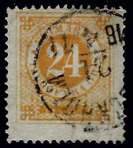 Sweden SC#24 Used Fine SCV$35.00....Real Deal!!