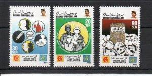 Brunei 420-422 MNH