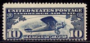 US Stamp #C10 MINT Hinged SCV $7.00
