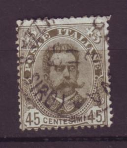 J20072 jlstamps 1891-6 italy used #71 king
