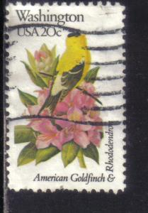 1999 - .20 State Birds & Flowers used f-vf.