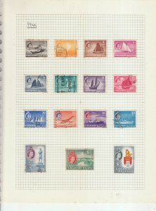 SINGAPORE 1948 55 SETS COMPLETE USED TO $5, EXCLUDES RSW HIGH VALUE