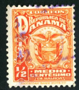 PANAMA #234, USED , 1924 - PAN178