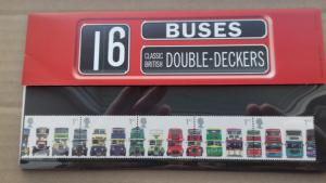 Great Britain 2001 Buses Mint