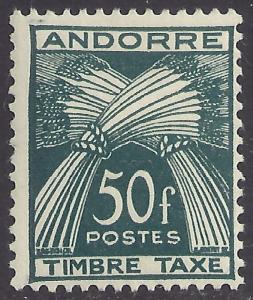 ANDORRA-FRENCH SCOTT J40