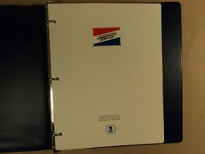 USPS Commemorative Stamp Club Album 89 Stamps Mint 1989 1990