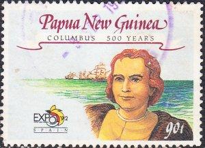 Papua New Guinea  #785  Used