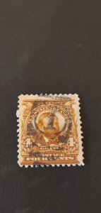 US #303 Used Fancy Cancel