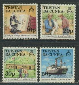 Tristan da Cunha 1987 Scientific set Sc# 416-19 NH