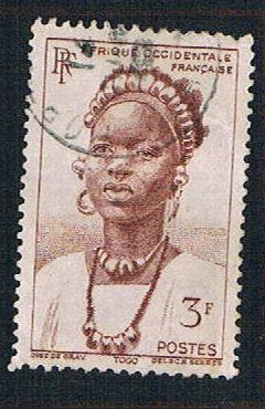 French West Africa 46 Used Peul Woman (BP10212)
