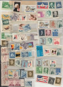 U.S. DISCOUNT POSTAGE, 55¢ X 100 COMBINATIONS. 30% DISCOUNT. MINT, NH. F-VF.