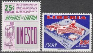 Liberia #384, C121  MNH (S7095L)