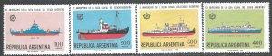 ARGENTINA 1220-23 MOG SHIPS X751