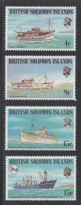 Solomon Islands Scott #285-288 MNH