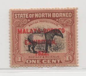 Malaya North Borneo - 1922 - SG 253c - MNH