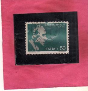 ITALIA REPUBBLICA ITALY REPUBLIC 1974 GUGLIELMO MARCONI CENTENARIO NASCITA BI...