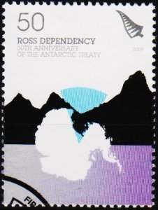 Ross Dependency. 2009 50c Fine Used