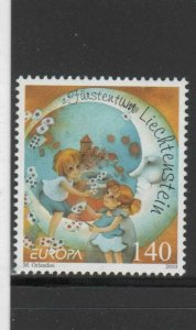 LIECHTENSTEIN #1490  2010  EUROPA    MINT  VF NH  O.G