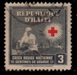 Haiti - #361 International Red Cross - Used