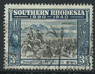 Southern Rhodesia SG 57  Used