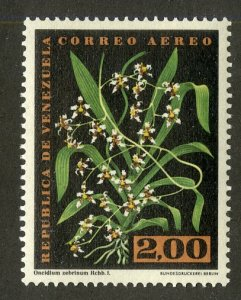 VENEZUELA C902 MNH SCV $5.00 BIN $2.50 FLOWERS