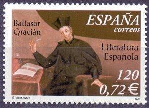 Spain. 2001. 3644. writer. MNH.