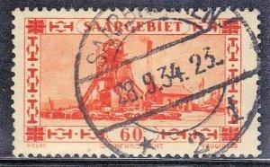 SAAR  SC# 127  USED  60c  1930  SEE SCAN