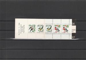 Finland  Scott#  856a  MNH  Complete Booklet  (1991 Birds)