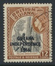 Guyana Independence 1966 SG 391 Used
