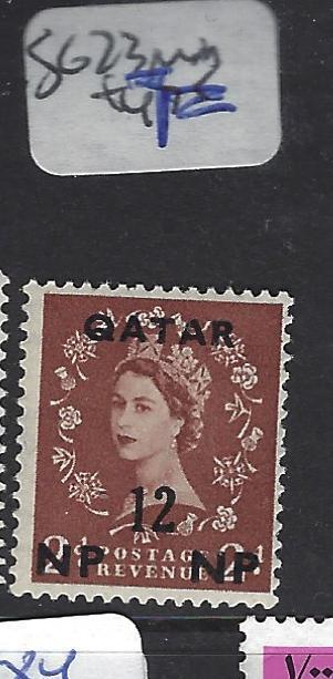 QATAR  (PP2609B)  QEII  ON GB 12NP SURCH SG 23   MOG