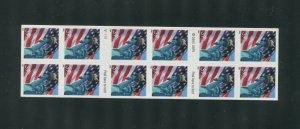 2006 US Liberty Postage Stamp #3982a Convertible Pane Die Cut Misperf Error