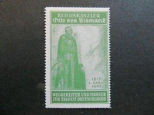 A4P5F73 Reklamemarke Otto von Bismark mnh**