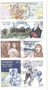 Sweden Sc 1677a 1988 New Sweden stamp bp used