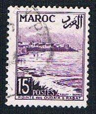 French Morocco 277 Used Oudaysa Point (BP14111)