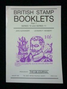 BRITISH STAMP BOOKLETS PART 7 SERIES 8 & SERIES 9 by ALEXANDER & NEWBERY