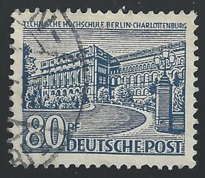 Germany #9N55 80pf Polytechnic College