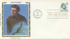 1986 Jack London Great Americans 2182 Colorano FDC