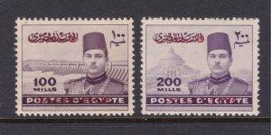 Egypt Gaza tge MH 100 & 200 ml from 1948