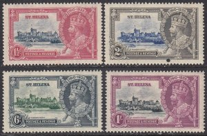 St. Helena 111-114 MLH (see Details) CV $50.10