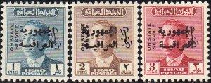 Iraq   #O192-O199  MNH