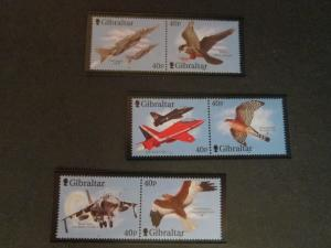 Gibraltar 2001 Sc 887-9 Bird set MNH