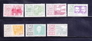 Mexico C285, C287-C289, C296-C298 MH Various