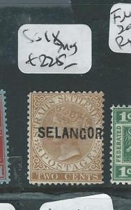 MALAYA SELANGOR (P0308B2) QV 2C   SG 18  MOG