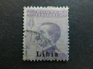A4P26F35 Libia 1912-15 50c usato