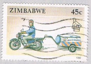 Zimbabwe 629 Used Motorcycle 1990 (BP40110)