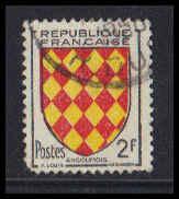 France Used Fine ZA5098